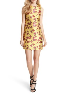 Alice + Olivia Coley Floral A-Line Shift Dress