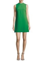 Alice + Olivia Coley Mock-Neck Sleeveless A-Line Dress