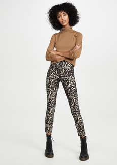 alice + olivia Conley High Waist Slim Leg Pants