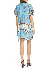 Alice + Olivia Conner Handkerchief Hem Dress