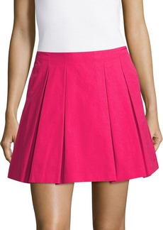 Alice + Olivia Conner Solid Skirt