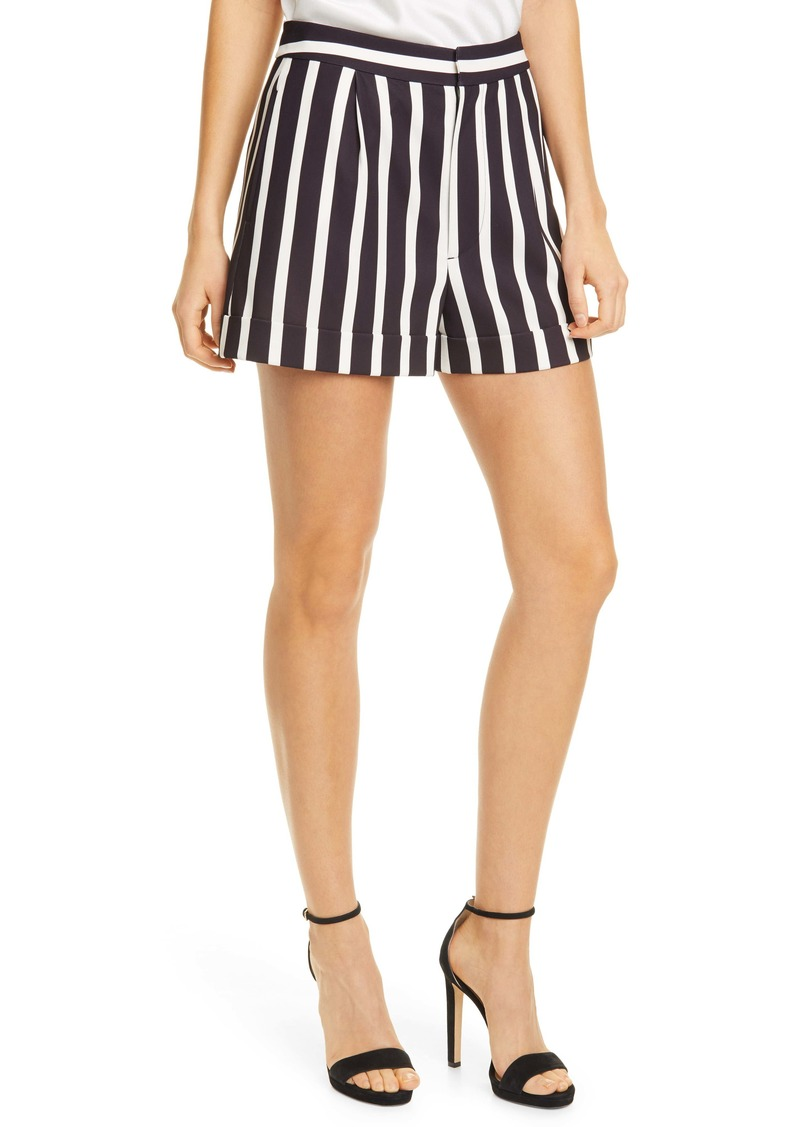 Alice + Olivia Conry Cuffed Shorts