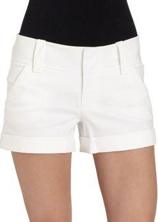 Alice + Olivia Cuffed Mini Shorts