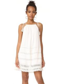 alice + olivia Danna Tie Stripe Dress