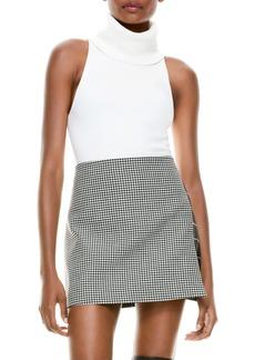 Alice + Olivia Darcey Sleeveless Turtleneck Sweater