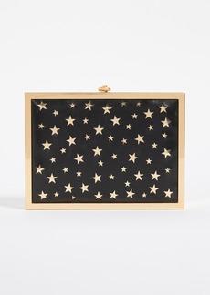 alice + olivia Darla Laser Cut Stars Box Clutch
