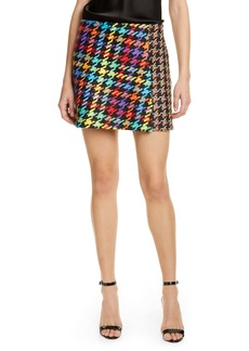 Alice + Olivia Darma Combo Crossover Miniskirt