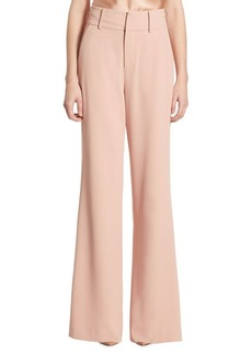 Alice + Olivia Dawn High-Rise Flared Pants