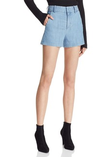 Alice + Olivia Deacon Chambray Shorts