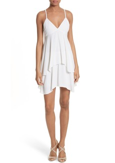 Alice + Olivia Delilah Stretch Silk Slipdress