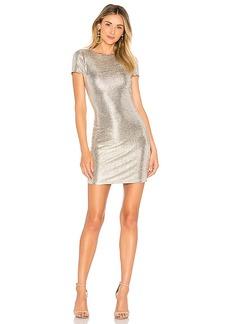 Alice + Olivia Delora Midi Dress