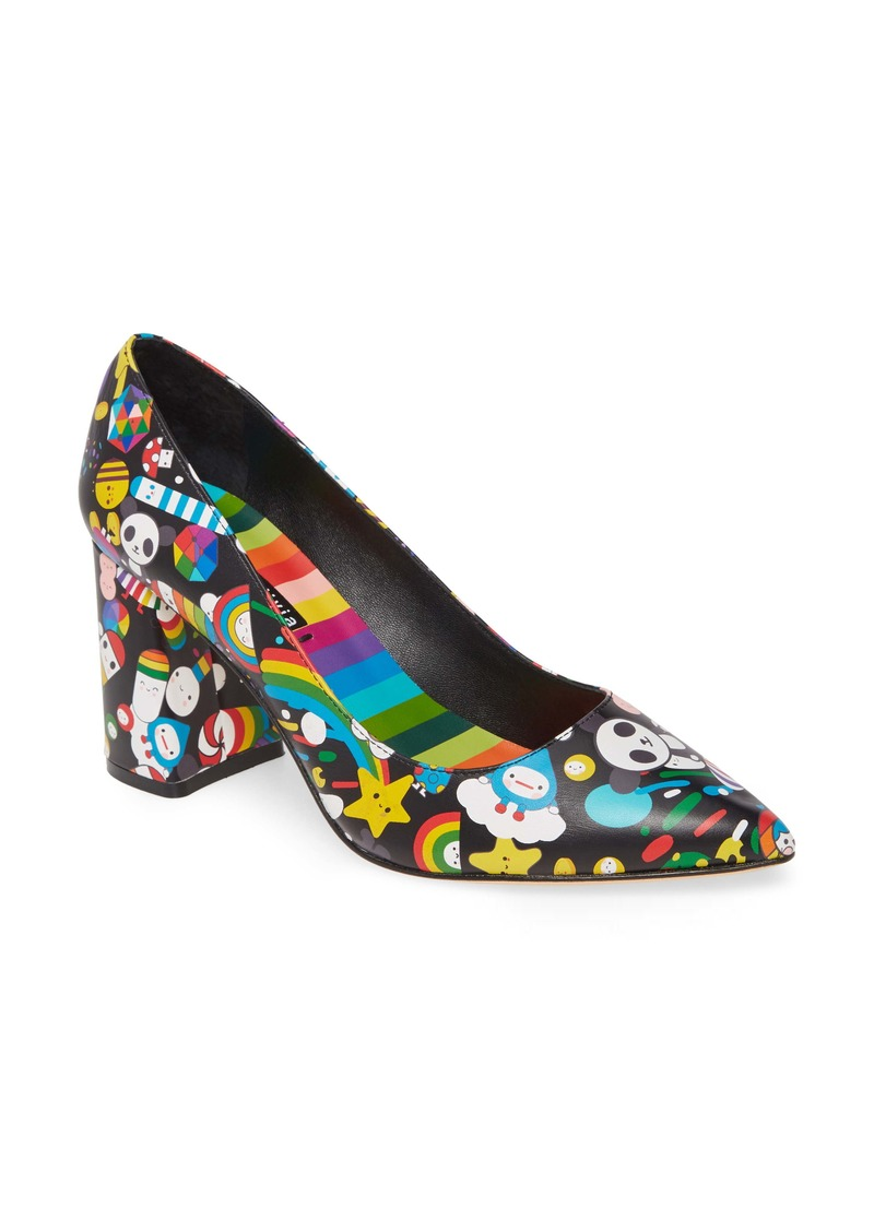 Alice + Olivia x Friends With You Demetra Pump (Women)