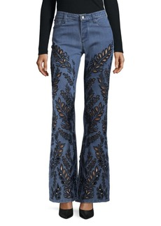 Alice + Olivia Designed Flared Pants
