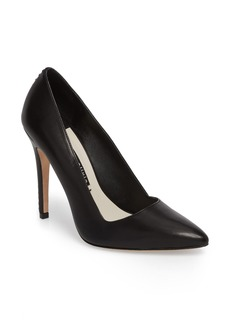 Alice + Olivia Dina 95 Whipstitch Pointy Toe Pump (Women)