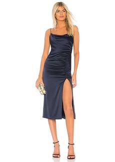 Alice + Olivia Dion Midi Slip Dress