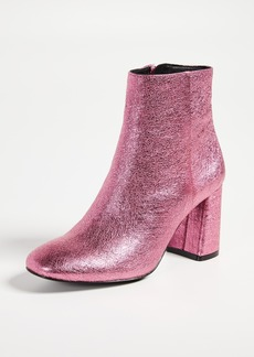 alice + olivia Dobrey Block Heel Booties