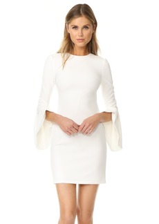alice + olivia Dora Bell Sleeve Dress
