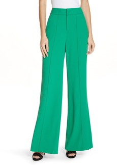 Alice + Olivia Dylan High Waist Clean Fit Pants