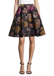 Alice + Olivia Earla Flare Skirt