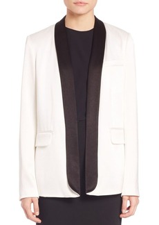 Alice + Olivia Edison Long Tuxedo Blazer