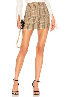 Alice + Olivia Elana Mini Skirt