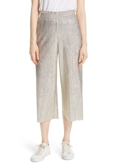 Alice + Olivia Elba Paperbag Crop Pants