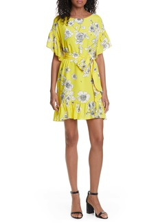 Alice + Olivia Ellamae Ruffle Sleeve Dress