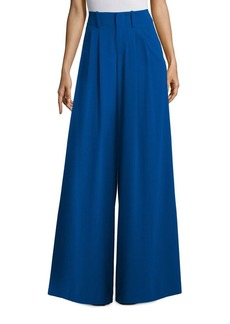 Alice + Olivia Eloise Straight Wide Leg Trousers