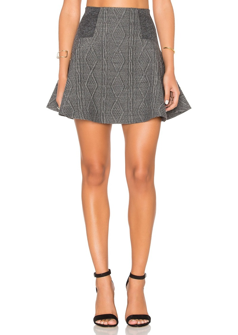 Alice + Olivia Elsie Skirt