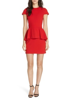 Alice + Olivia Ember Peplum Dress