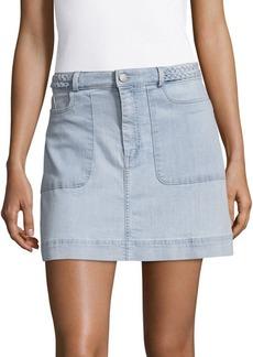 Alice + Olivia Emmerson Denim Skirt