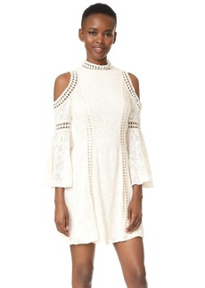 alice + olivia Enya Cold Shoulder Dress