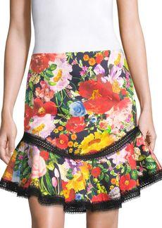 Alice + Olivia Eriko Floral Skirt