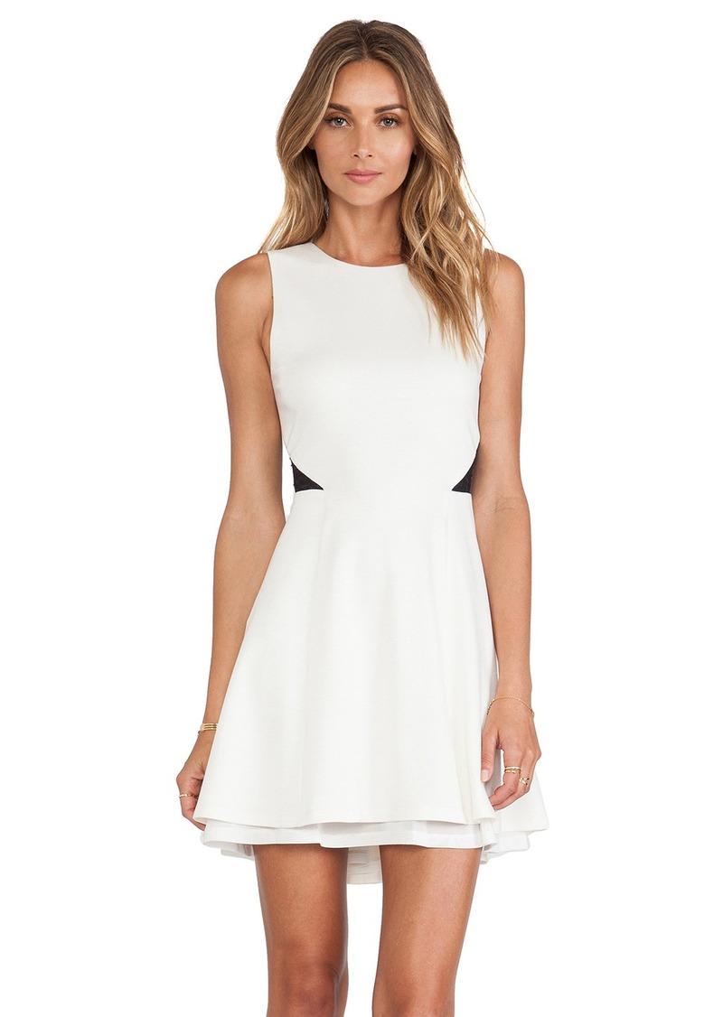 Alice + Olivia Evan Fit & Flare Dress