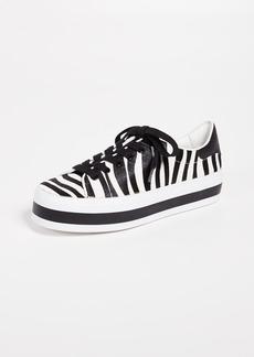 alice + olivia Ezra Zebra Sneakers