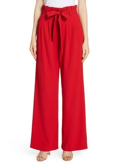 Alice + Olivia Farrel Paperbag Waist Pants