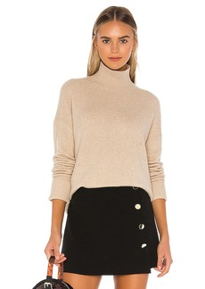 Alice + Olivia Feliz Turtleneck Oversized Pullover