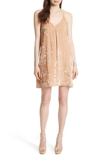 Alice + Olivia Fierra Velvet Slipdress