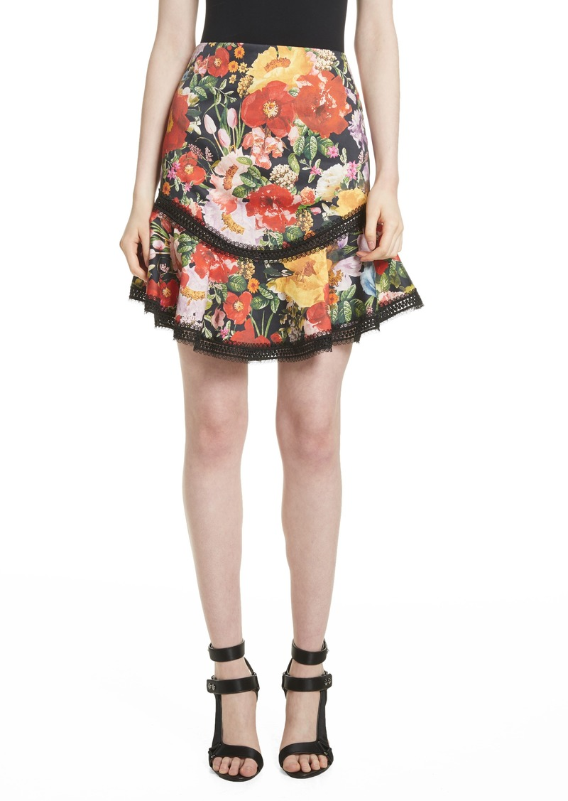 091b1f3e5 On Sale today! Alice + Olivia Alice + Olivia Floral Skirt
