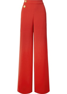 Alice + Olivia Florinda Crepe Wide-leg Pants