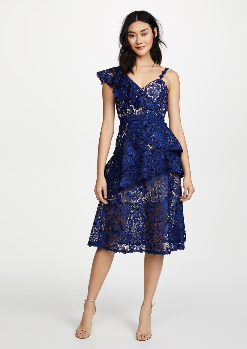 3a8e20d7b68 Alice + Olivia alice + olivia Florrie Ruffle Midi Dress