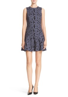 Alice + Olivia Fonda Appliqué Dress