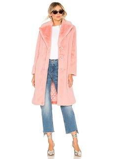 Alice + Olivia Foster Faux Fur Coat