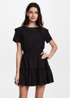 alice + olivia Garner Drop Shoulder Dress
