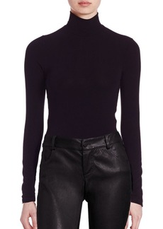 Alice + Olivia Garrison Turtleneck Top