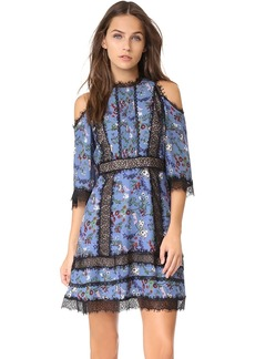 alice + olivia Gatz Cold Shoulder Dress