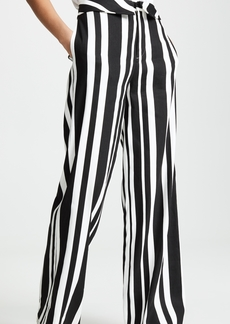 alice + olivia Geo Fold Over Pants