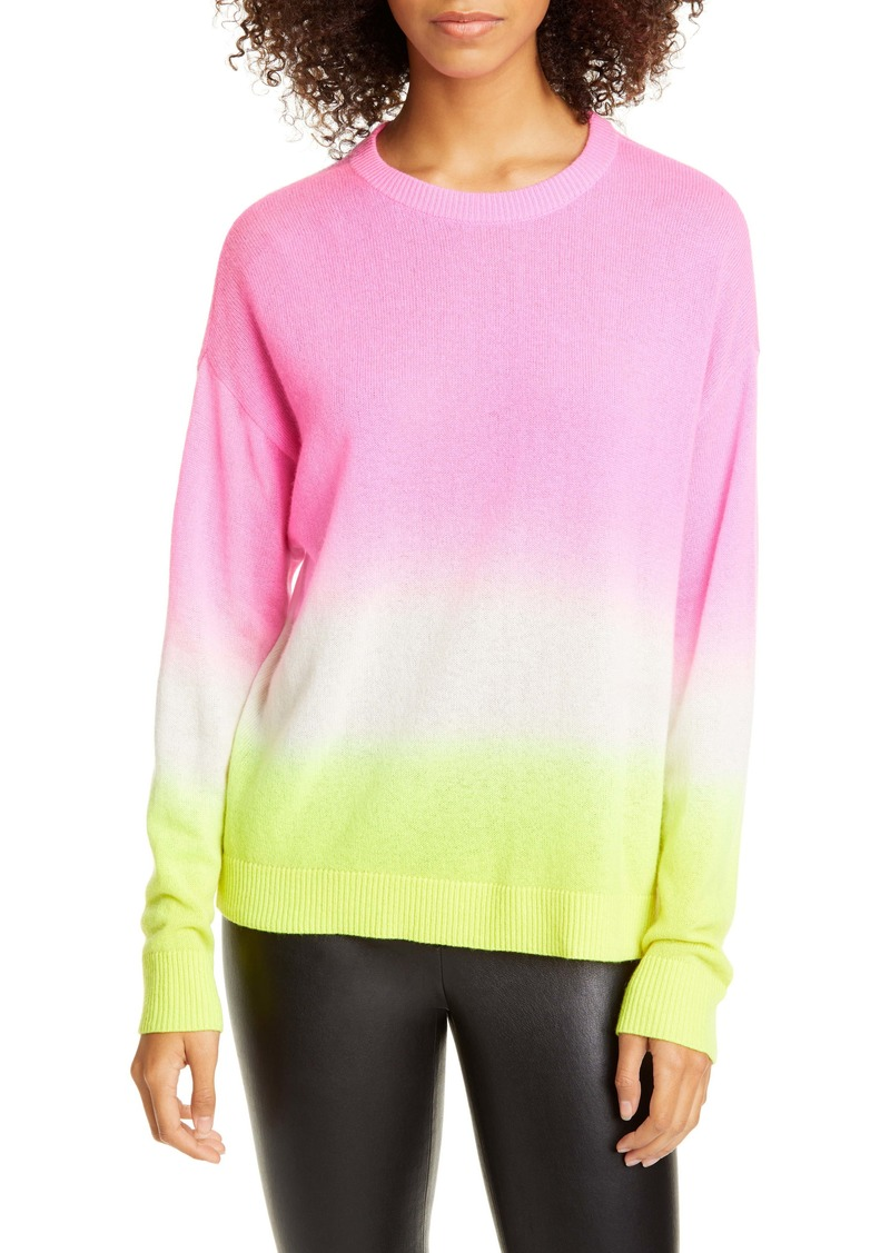 Alice + Olivia Gleeson Dip Dye Cashmere Sweater