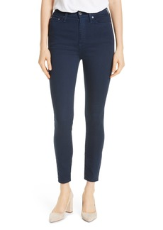 Alice + Olivia Good High Rise Exposed Button Fly Colored Jeans