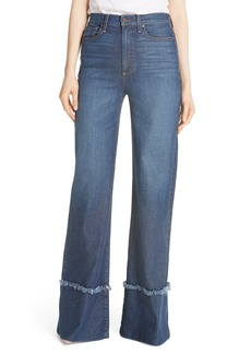 Alice + Olivia Gorgeous Flare Leg Jeans (So Clever)